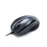 Компьютерная мышь, Delux, DLM-396OUB, 3D, Оптическая, 1000dpi, USB, Длина кабеля 1,6 метра, Размер: 113,679,439,5 мм., Чёрный