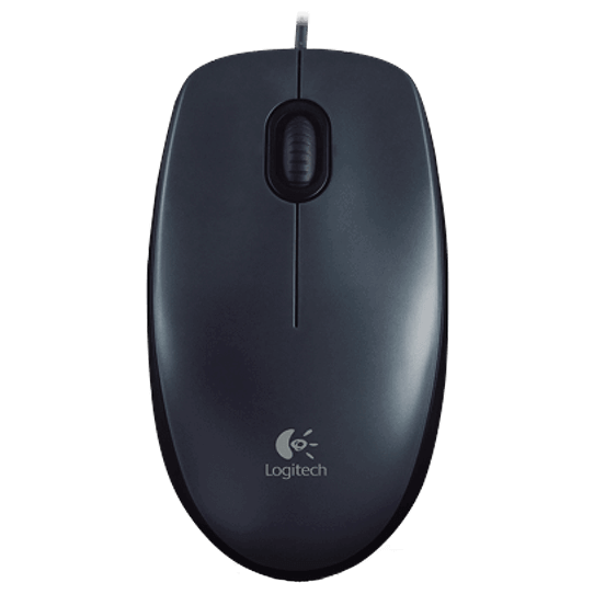 Мышь L910-005003 LOGITECH Corded Mouse M100 - EMEA - GRAY