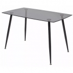 MC RONDO стол цвет grey XS-1262 стекло