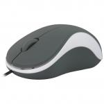 Мышь проводная Defender Accura MS-970 серый+белый