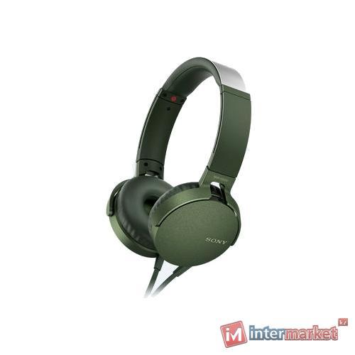 Наушники Sony MDR-XB550AP (Green)