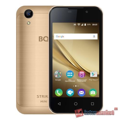 Смартфон BQ-4072 Strike Mini Pink Gold 4